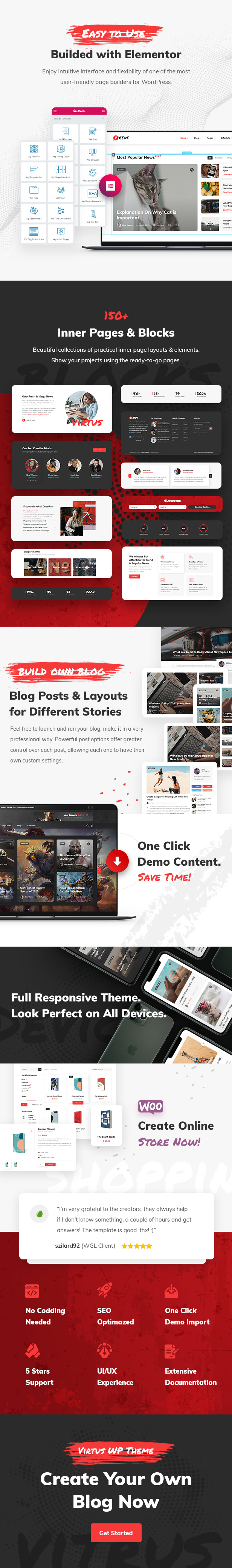 Virtus - Modern Blog & Magazine WordPress Theme - 2